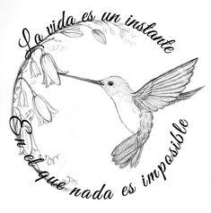 Życie jest chwilą w której nic nie jest niemożliwe Hummingbird Sketch, Hummingbird Pictures, Hummingbird Painting, Hummingbird Tattoo, Dragonfly Tattoo, Black Tattoos, Body Art Tattoos, Sleeve Tattoos, Cool Tattoos