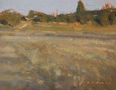 "Late afternoon in Auburn by Simon Addyman Oil ~ 8"" x 10"""