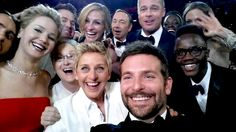 Ellen DeGeneres Knew Her Selfie Would Crash Twitter, Originally Planned to Crop Meryl Streep Out | E! Online Mobile ...Now that's funny!!