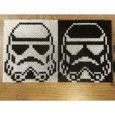 Stormtroopers - Star Wars hama beads by pixtille