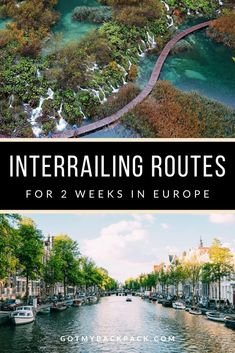 Spend 2 weeks interrailing across the European continent with these 6 EPIC route ideas. From the Nordic countries, through to the Iberian peninsular, there's an interrail route for everyone. Backpack Europe Route, Europe Train Travel, Packing For Europe, Backpacking Europe, Europe Travel Tips, Travel Abroad, France Travel, Traveling Europe, Packing Lists