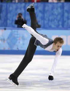 DAY 8:  Michal Brezina of the Czech Republic competes during the Figure Skating Men's Free Skate http://sports.yahoo.com/olympics