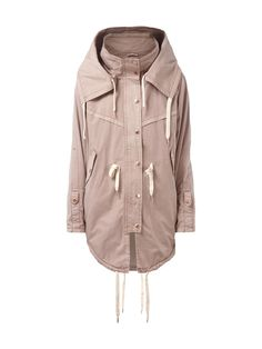 soft pink review parka...