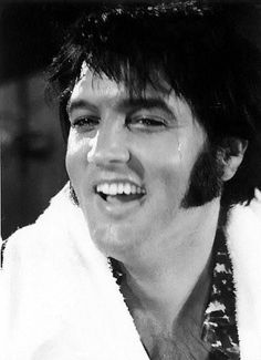Elvis during rehearsals at MGM Studios 1970
