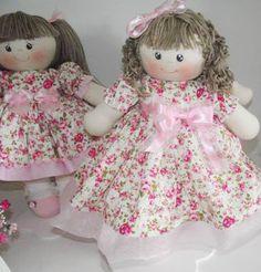 Atelie Tia Nú Bonecas de Pano : Bonecas de Pano,Urso Marinheiro e Palhacinhos