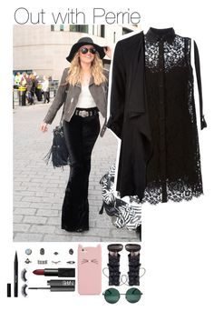 """Out with Perrie"" by safaaroba ❤ liked on Polyvore featuring Dolce&Gabbana, Zimmermann, Kate Spade, NARS Cosmetics, Stila and YHF"
