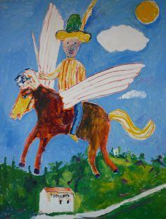 Daniele Crivelli, Autoritratto a cavallo, http://www.danielecrivelli.it/