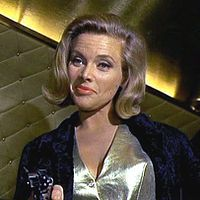 Honor Blackman as Pussy Galore