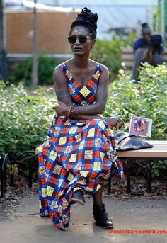 27 Photos of the Overwhelming Black Woman Beauty at the AfroPunk Festival - BGLH Marketplace African Wear, African Attire, African Inspired Fashion, African Fashion, Afro Punk Fashion, Black Girls Hairstyles, Twisted Hairstyles, Style Snaps, Beautiful Black Women