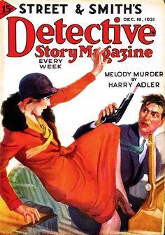 Detective Story Magazine - December 19, 1931