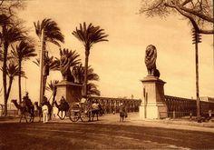 كوبرى قصر النيل Old Egypt, Kairo, Arabic Love Quotes, Old And New, Statue Of Liberty, Egyptian, Pictures, Photos, Travel