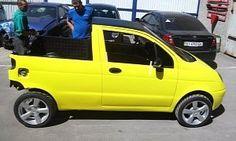 Daewoo Matiz Turned into Mini Pickup by Creative Russians http://buff.ly/2bEB5xE Bodykitchannel http://buff.ly/1U5PAup