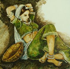 Netra Sathe, Painting, Figurative, Oil on Canvas