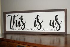 This Is Us Hand Painted Wood Sign Unframed Wood Projects For Beginners, Diy Wood Projects, Wood Crafts, Resin Crafts, Funky Home Decor, Home Decor Signs, Diy Home Decor, Popular Woodworking, Woodworking Jigs