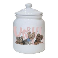 Treat Jar - Yorkshire Terrier
