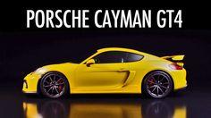 ► Porsche Cayman GT4 - design