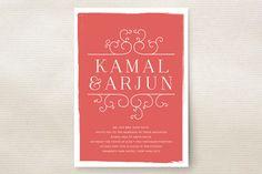 Darjeeling Wedding Invitations by annie clark at minted.com