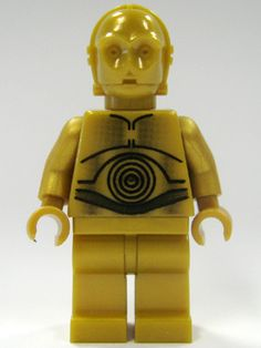 lego C3PO #legoset #lego minifigure #lego star wars