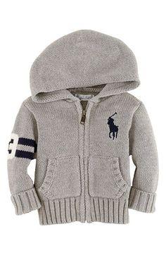 Ralph Lauren Zip Cardigan (Baby Boys) | Nordstrom.....baby clothes