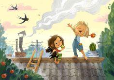 Посмотреть иллюстрацию Анна Чернышова - Когда-то очень давно... Невымышленная история :).