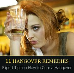 Expert Tips on How to Cure a Hangover