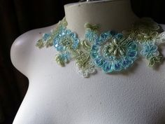 Hey, I found this really awesome Etsy listing at https://www.etsy.com/listing/210052056/beaded-lace-applique-in-alencon-lace