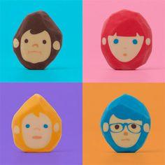 Rubber Barber - gumki do ścierania (Chen Lu Wei)