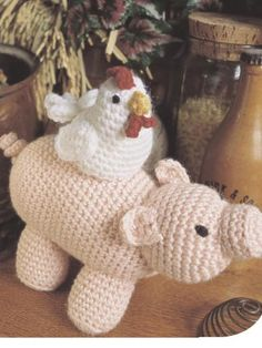 Piggyback free crochet pattern of the day from freepatterns.com 9/16/13