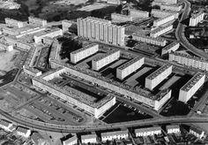 Quartier des Dervallières - Nantes - 1965