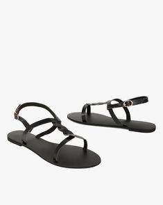a8066957bde8 Ajio Sale - Flat Sandals. Buy online at Flat Sandals