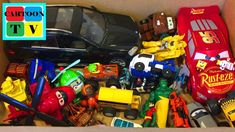 Toys Box Surprise Transformers Tobot Cars Disney Hulk Avengers Paw Patro... Car Cake Tutorial, Hulk Avengers, Lightning Mcqueen, Cartoon Tv, Disney Cars, Toy Boxes, Paw Patrol, Transformers, Youtube