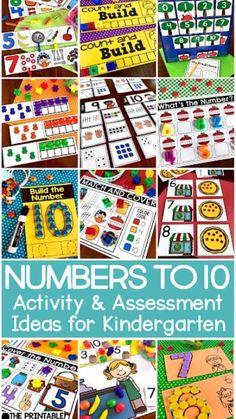 Kindergarten Math Games, Preschool Math, Maths, Preschool Forms, Teaching Numbers, Math Numbers, Eureka Math, Counting Activities, Number Activities