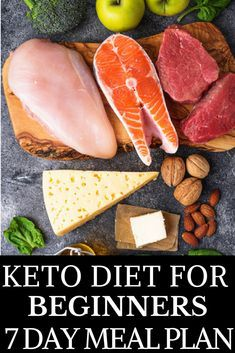 The Hungry Girl's Guide to Keto: Ketogenic Diet for Beginners 7 Day Meal Plan Looking for keto diet tips for beginners? Check out this easy Free keto diet meal plan for week one! Includes ketogenic diet recipes for breakfast lunch and dinner! Ketogenic Diet Food List, Keto Food List, Ketogenic Diet For Beginners, Keto Diet For Beginners, Food Lists, Diet Foods, Paleo Diet, Nutrition Diet, Ketogenic Recipes
