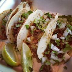 Cool & Hot in Dallas, TX - 24 hour tacos (most likely bfast all day!)