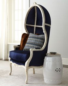 Balloon chair.