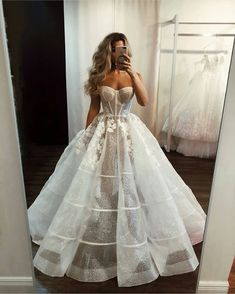 Sexy Illusion White Long Bridal Gown from modsele Sexy Illusion White Long Brautkleid · modsele · Online Store Präsentiert von Storenvy Dream Wedding Dresses, Bridal Dresses, Wedding Gowns, Prom Dresses, Lace Wedding, Trendy Wedding, Elegant Wedding, Pina Tornai Wedding Dresses, Corset Wedding Dresses