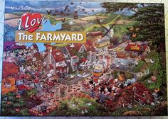 "Gibsons Mike Jupp 'I Love Farmyards' 1000 Piece Jigsaw Puzzle~Complete FOR SALE • £8.50 • See Photos! Money Back Guarantee. GIBSONSMIKE JUPPI LOVE FARMYARDS1000 PIECE JIGSAW PUZZLEFINISHED PUZZLE SIZE APPROX 19"" x 27""TRIED AND TESTED ALL PIECES COMPLETEEXCELLENT CLEAN CONDITION BOTH BOX AND JIGSAW PIECESSMOKE FREE HOME~~~~~~~~~~~~~~~~~~~~~PAYMENT BY PAYPAL AND 272441296252"