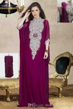 Muslim Evening Dresses 2016 Our Real Picture East Dubai Kaftan High Neck Crystals Formal Prom Party Gowns Vestidos Arabic Celebrity Dress Online with $165.4/Piece on Dreamdresswedding's Store | DHgate.com
