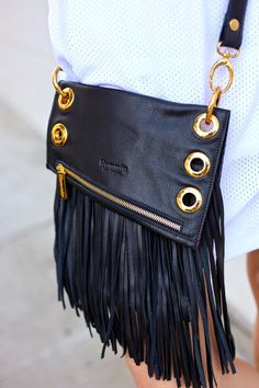LA by Diana - California Fashion Blog, Personal Style Blog, LA fashion blog, 2014 Fashion Trends: Hammit LA Fringe Bag
