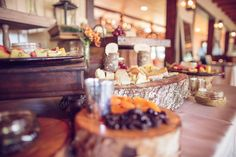 Fruit & Cheese Display by Hamby Catering & Events. An incredible Southern garden wedding in Charleston by Richard Bell Photography || see more on artfullywed.com