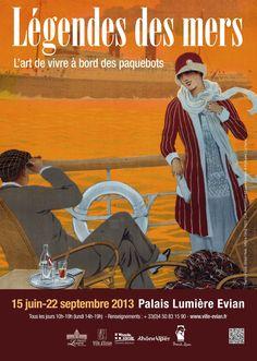 """21 juin 2013. Expositions. Des « Légendes des mers » nous nous sommes rendus à la Maison Gribaldi. 21 June 2013. Exhibitions. We headed to the """"Légendes des mers"""" at the Maison Gribaldi.   #CharlesJosephSource #sourcesofculture #sourcesofeurope #Evianlesbains #Gribaldi #Palaislumiere http://www.ville-evian.fr/france/DT1206089727/page/Expositions--Palais-Lumiiere.html"""