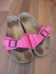 Birkenstock Sandale Größe 39 pink