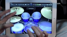 iPad Drum Solo - Ready for a jam session? In this video a drummer rocks out using his iPad and Garageband.