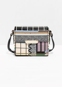 & Other Stories   Graphic Leather Bag