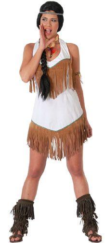 Disfraz de India Blanca para mujer