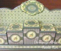 made by Decoupage Atelier - Nadia Kior Decoupage, Decorative Boxes, Home Decor, Art, Atelier, Art Background, Decoration Home, Room Decor, Kunst