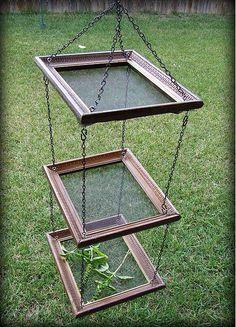 DIY Upcycled herb screen tutorial