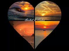 Una puesta de sol es el momento más hermoso del día. #anabelycarlos
