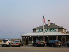 childhood memories of the beach eating clam cakes... Aunt Carries, rhode island