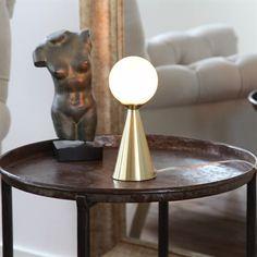 Draft bordslampa - mässing matt - By Rydéns